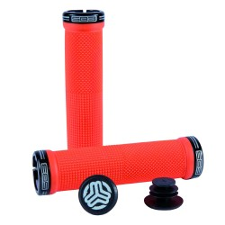 KHEOPS GRIPS RED ANO BLACK