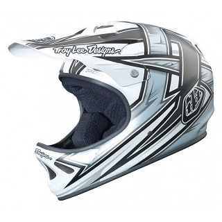 CASQUE TLD D2 PROVEN WHITE