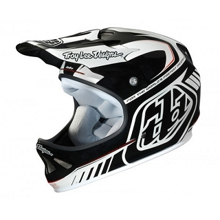 CASQUE TLD D2 DELTA WHITE BLACK XS/SM