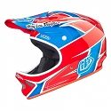 CASQUE TLD D2 TURBO RED WHITE BLUE XS/S
