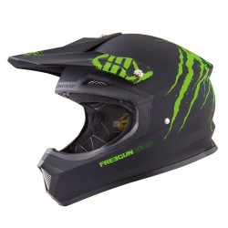 CASQUE FREEGUN XP4 FREAK VERT MAT