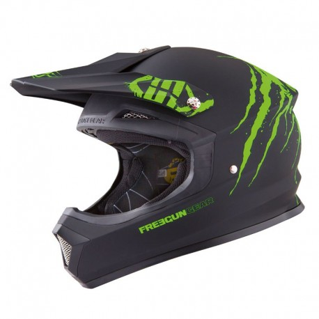 CASQUE FREEGUN XP4 FREAK VERT
