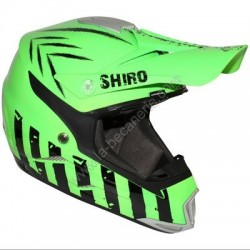 CASQUE CROSS SHIRO MX305 VERT