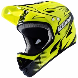 CASQUE KENNY DOWN HILL JAUNE FLUO