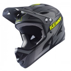 CASQUE KENNY DOWN HILL GRIS JAUNE