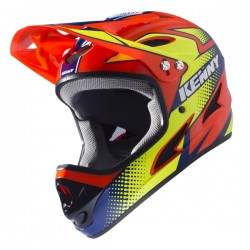 CASQUE KENNY DOWN HILL ORANGE FLUO