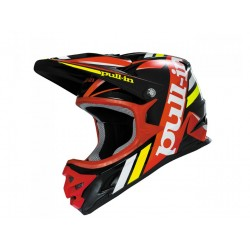CASQUE PULL-IN NOIR ROUGE XS