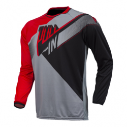 MAILLOT PULL-IN KID GRIS NOIR ROUGE XXS