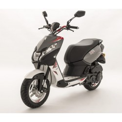 """SCOOTER PEUGEOT STREETZONE 12"""" FLAT 6 ROUGE"""