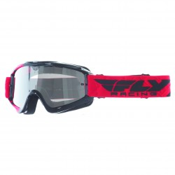 MASQUE FLY ZONE RED/BLK CLEARCHROME LENS