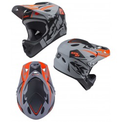 CASQUE DOWN HILL KENNY GREY BLACK XXS
