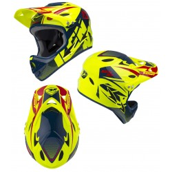 CASQUE DOWN HILL KENNY NEON JAUNE