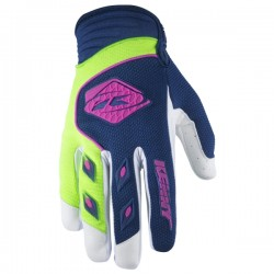 GANTS KENNY TRACK NAVY LIME TAILLE : 7