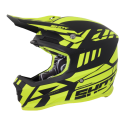 CASQUE SHOT FURIOUS RIOT JAUNE