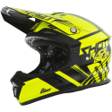 CASQUE SHOT FURIOUS CLAW JAUNE