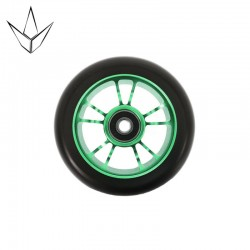BLUNT WHEEL 10 SPOKES 100MM GREEN