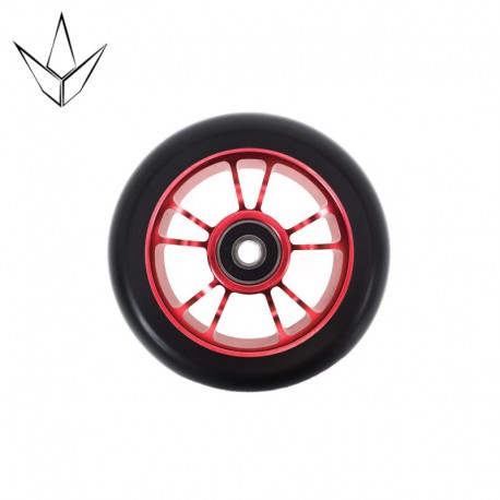 BLUNT WHEEL 10 SPOKES 100MM RED