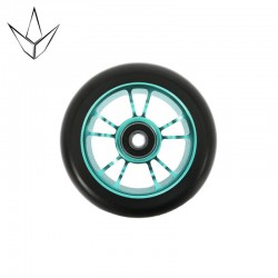 BLUNT WHEEL 10 SPOKES 100MM CYAN