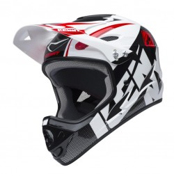 CASQUE DOWN HILL KENNY BLANC NOIR