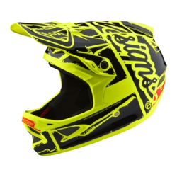 CASQUE D3 FIBERLITE FACTORY YELLOW XS
