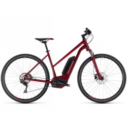 CUBE CROSS HYBRID PRO 400 DARKRED 18 TAILLE 46