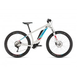 CUBE ACCESS HYBRID PRO 500 WHITE BLUE 17 2019