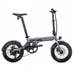 VELO ASSISTANCE ELECTRIQUE EOVOLT CITY 4V GRIS