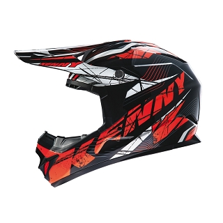 CASQUE DOWN HILL 607 ROCKET ORANGE S