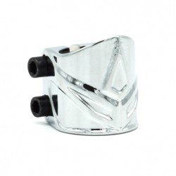BLUNT CLAMP 2 BOLT FORGED OS CHROME
