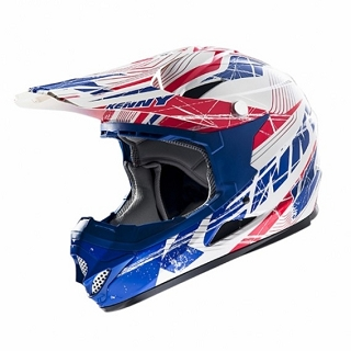 CASQUE DOWN HILL 607 ROCKET BLEUROUGE S