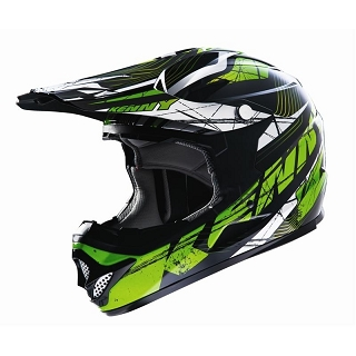CASQUE DOWN HILL 607 ROCKET VERT XS