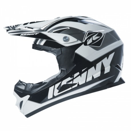 achat casque kenny rocket gris noir kenny cycles chasserez. Black Bedroom Furniture Sets. Home Design Ideas