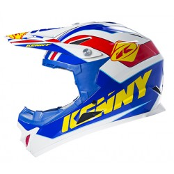 CASQUE KENNY ROCKET BLEU JAUNE