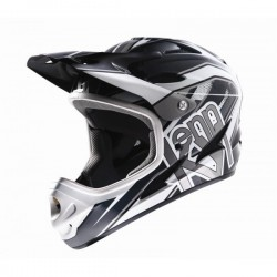 CASQUE DOWN HILL GRIS S
